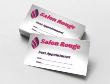 Printed Appointment Cards