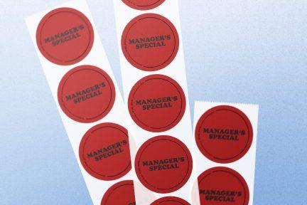 Printed Sticker Roll