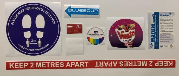 Large Custom Stickers