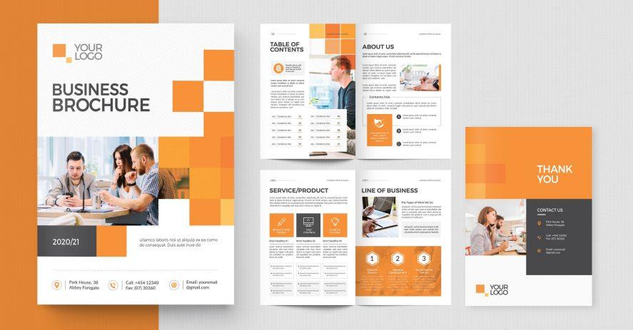 Printed Business Brochures